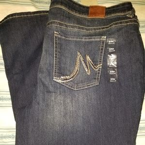 Maurices plus size jeans new with tags 24w